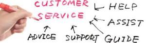 Help customers